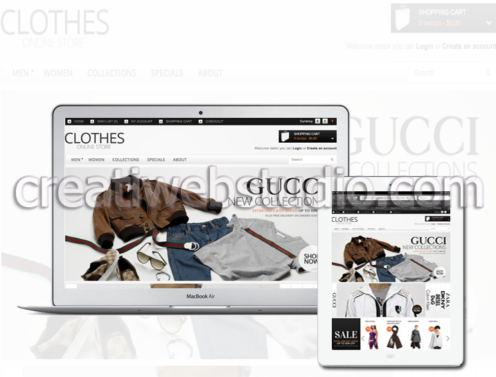 We create online stores - mobil webshop, tablet webshop - www.creatiwebstudio.com