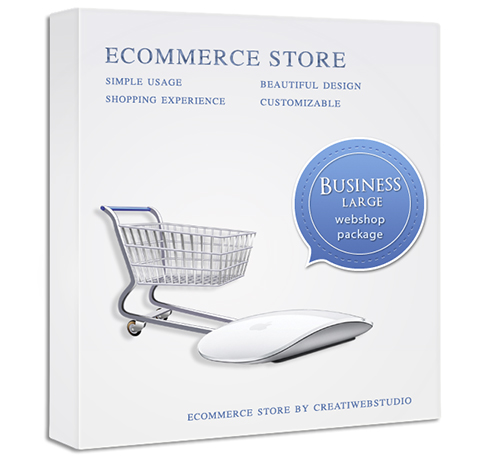 Online store - professional webshop package